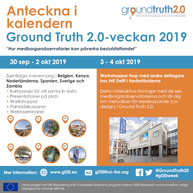 Ground Truth 2.0-veckan 2019